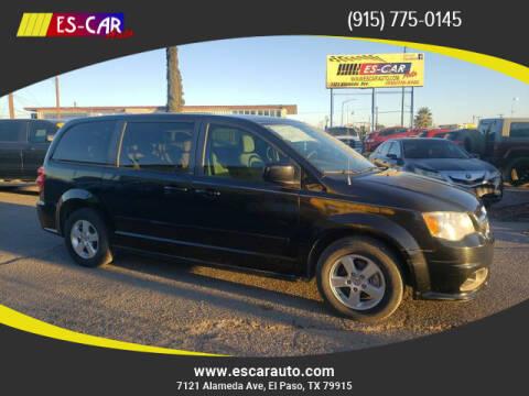2012 Dodge Grand Caravan for sale at Escar Auto in El Paso TX