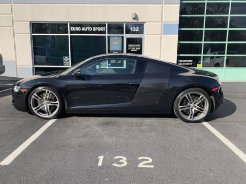 2012 Audi R8 for sale at Euro Auto Sport in Chantilly VA