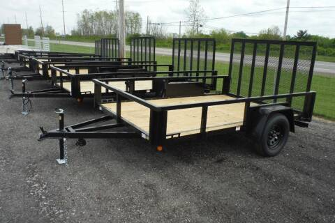 2022 Quality Steel 82x10 lanscape for sale at Bryan Auto Depot in Bryan OH