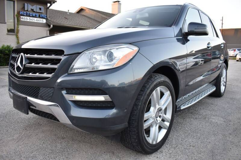 2013 Mercedes-Benz M-Class for sale at IMD Motors in Richardson TX