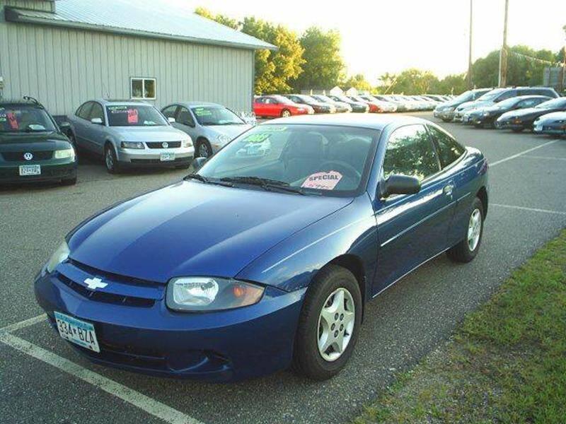 2003 Chevrolet Cavalier for sale in Hutchinson, MN