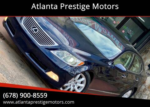 2007 Lexus LS 460 for sale at Atlanta Prestige Motors in Decatur GA