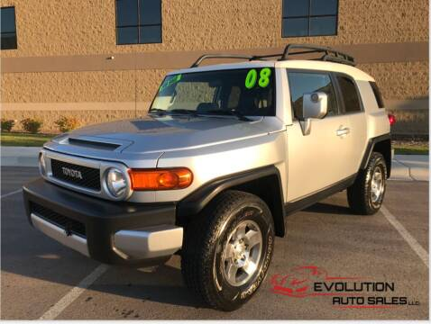 2008 Toyota FJ Cruiser for sale at Evolution Auto Sales LLC in Springville UT