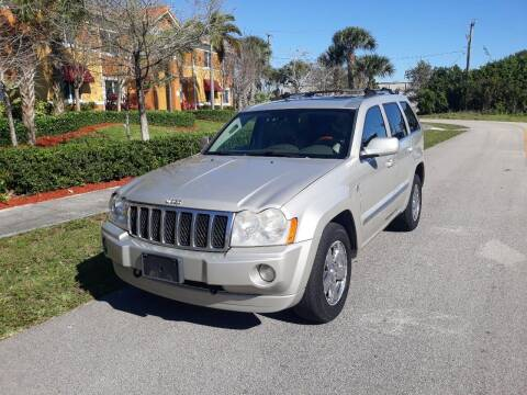 2007 Jeep Grand Cherokee for sale at LAND & SEA BROKERS INC in Deerfield FL