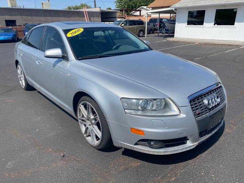 2008 Audi A6 for sale at Robert Judd Auto Sales in Washington UT