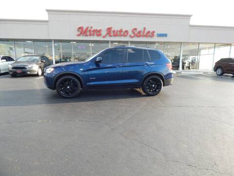 2013 BMW X3 for sale at Mira Auto Sales in Dayton OH