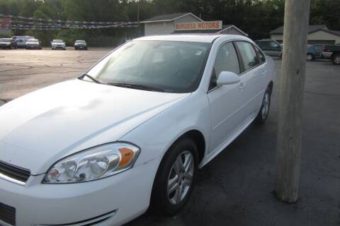 2011 Chevrolet Impala for sale at Burgess Motors Inc in Michigan City IN