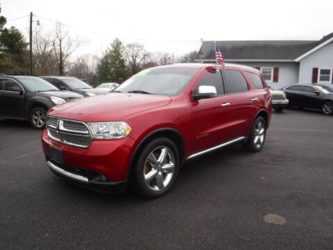 2011 Dodge Durango for sale at Rob Co Automotive LLC in Springfield TN