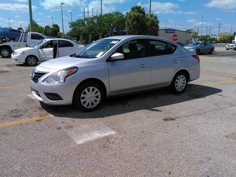 2016 Nissan Versa for sale at Best Auto Deal N Drive in Hollywood FL