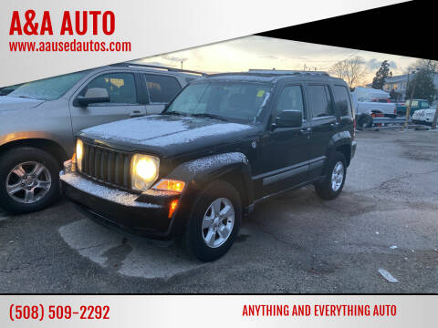 2010 Jeep Liberty for sale at A&A AUTO in Fairhaven MA