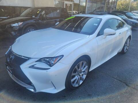 2015 Lexus RC 350 for sale at TOP YIN MOTORS in Mount Prospect IL