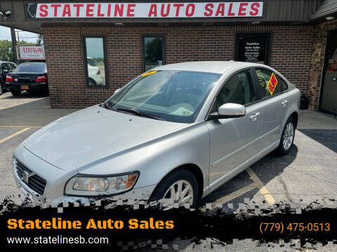 2008 Volvo S40 for sale at Stateline Auto Sales in South Beloit IL