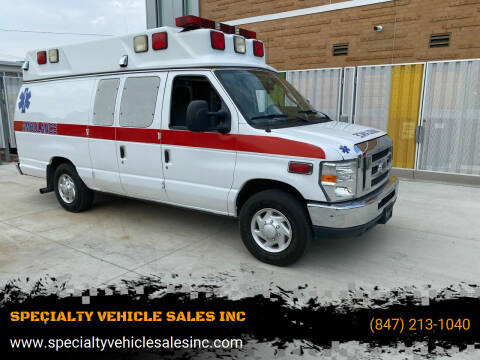 2010 Ford E-Series Cargo for sale at SPECIALTY VEHICLE SALES INC in Skokie IL