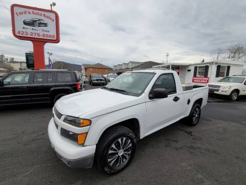 2012 Chevrolet Colorado for sale at Ford's Auto Sales in Kingsport TN
