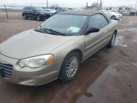 2004 Chrysler Sebring for sale at PYRAMID MOTORS - Fountain Lot in Fountain CO