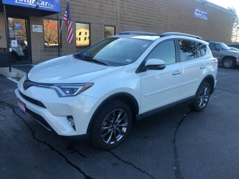 2018 Toyota RAV4 for sale at CJ Clark's New England Motor Car Company in Hudson NH