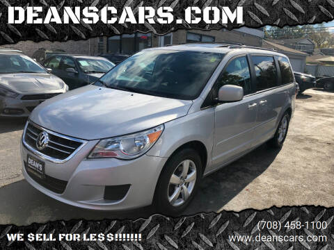 2009 Volkswagen Routan for sale at DEANSCARS.COM in Bridgeview IL