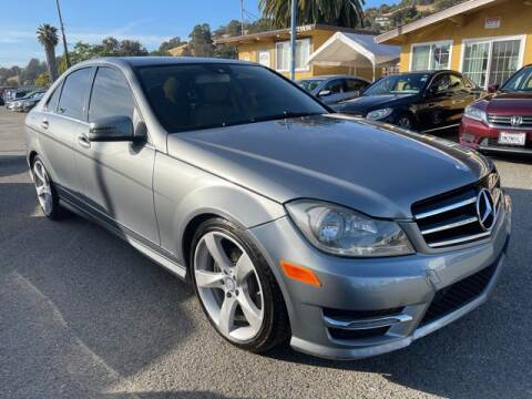 2014 Mercedes-Benz C-Class for sale at MISSION AUTOS in Hayward CA