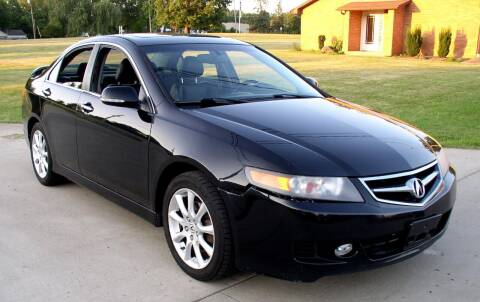 2007 Acura TSX for sale at Angelo's Auto Sales in Lowellville OH