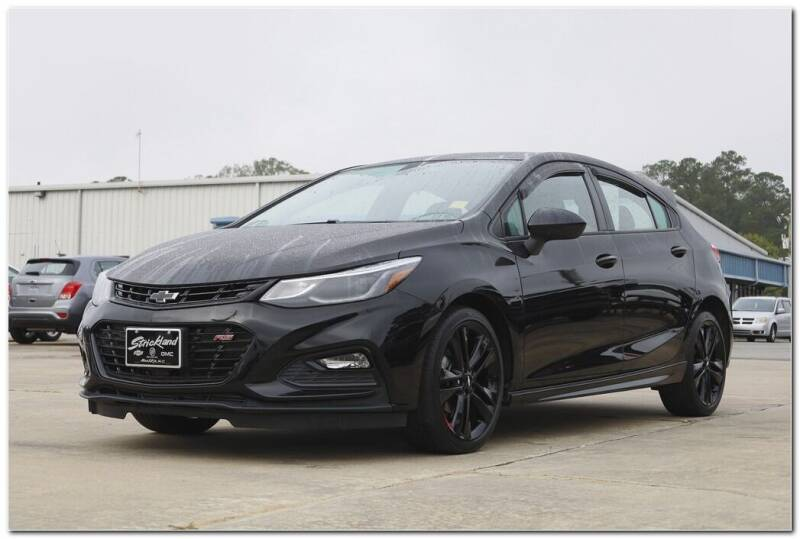 2018 Chevrolet Cruze for sale at STRICKLAND AUTO GROUP INC in Ahoskie NC