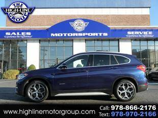 2016 BMW X1 for sale at Highline Group Motorsports in Lowell MA