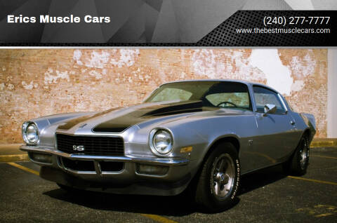 1970 Chevrolet Camaro for sale at Erics Muscle Cars in Clarksburg MD