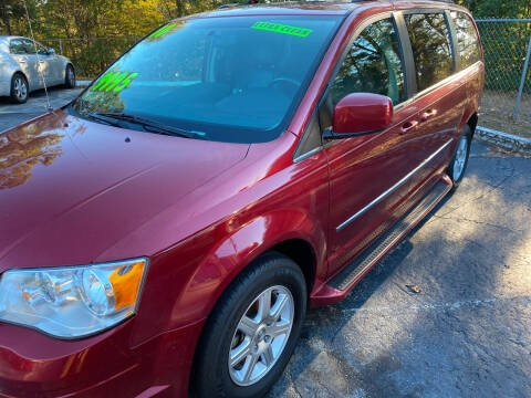 2010 Chrysler Town and Country for sale at TOP OF THE LINE AUTO SALES in Fayetteville NC