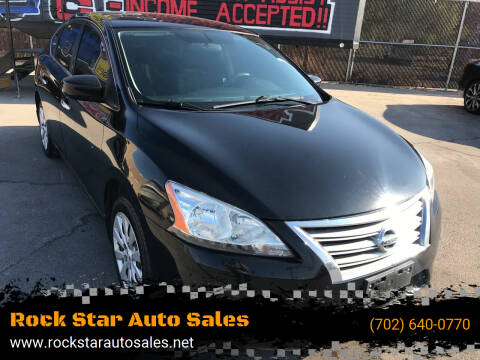 2013 Nissan Sentra for sale at Rock Star Auto Sales in Las Vegas NV