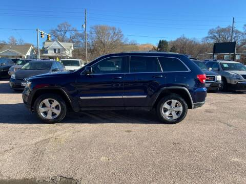 2012 Jeep Grand Cherokee for sale at RIVERSIDE AUTO SALES in Sioux City IA