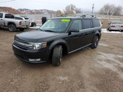 2013 Ford Flex for sale at Canyon View Auto Sales in Cedar City UT