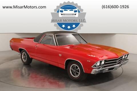 1969 Chevrolet El Camino for sale at Misar Motors in Ada MI