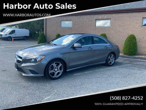 2014 Mercedes-Benz CLA for sale at Harbor Auto Sales in Hyannis MA