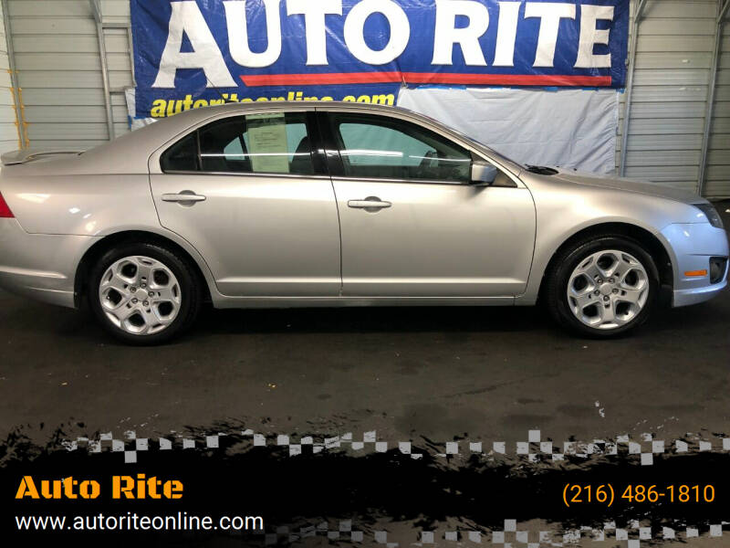 2011 Ford Fusion for sale at Auto Rite in Bedford Heights OH