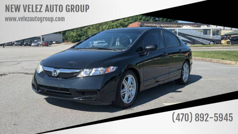 2010 Honda Civic for sale at NEW VELEZ AUTO GROUP in Gainesville GA