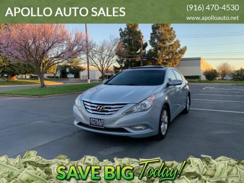 2011 Hyundai Sonata for sale at APOLLO AUTO SALES in Sacramento CA