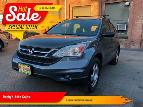 2010 Honda CR-V for sale at Rocky's Auto Sales in Worcester MA
