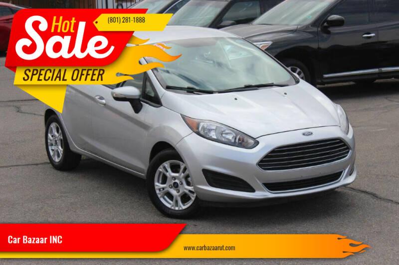 2016 Ford Fiesta for sale at Car Bazaar INC in Salt Lake City UT
