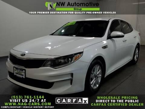 2016 Kia Optima for sale at NW Automotive Group in Cincinnati OH