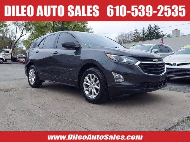 2018 Chevrolet Equinox for sale at Dileo Auto Sales in Norristown PA