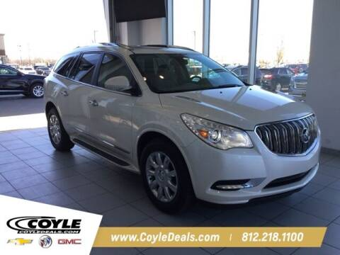 2014 Buick Enclave for sale at COYLE GM - COYLE NISSAN in Clarksville IN
