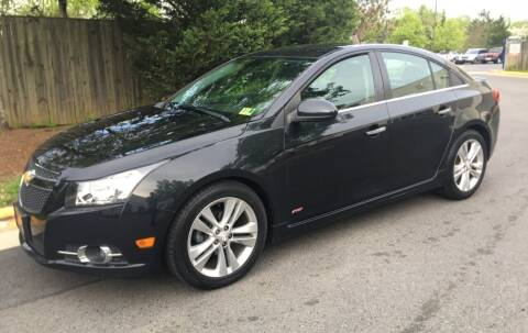 2014 Chevrolet Cruze for sale at Super Bee Auto in Chantilly VA