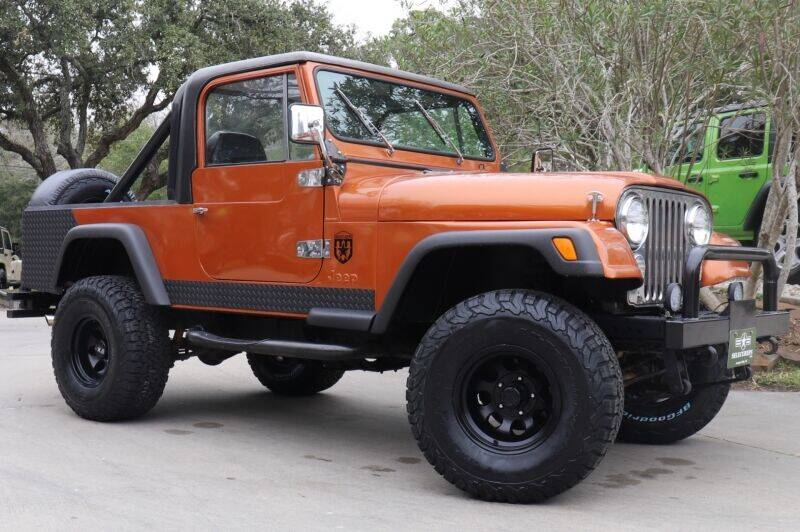 1982 Jeep Scrambler for sale at SELECT JEEPS INC in League City TX