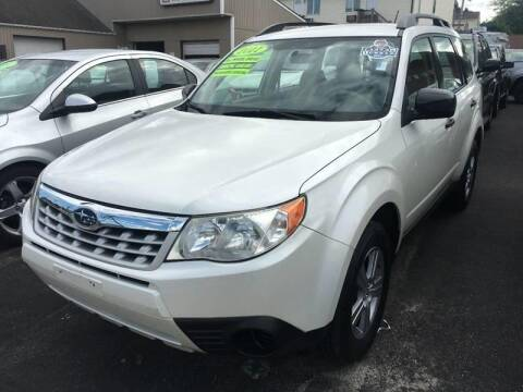 2011 Subaru Forester for sale at Dijie Auto Sale and Service Co. in Johnston RI