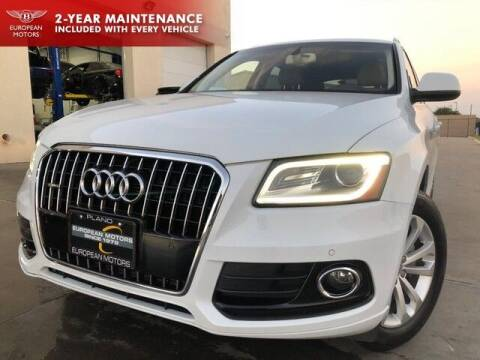 2015 Audi Q5 for sale at European Motors Inc in Plano TX