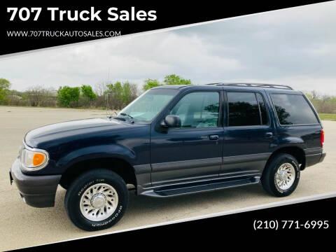 1999 Mercury Mountaineer for sale at 707 Truck Sales in San Antonio TX