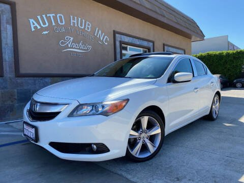 2013 Acura ILX for sale at Auto Hub, Inc. in Anaheim CA