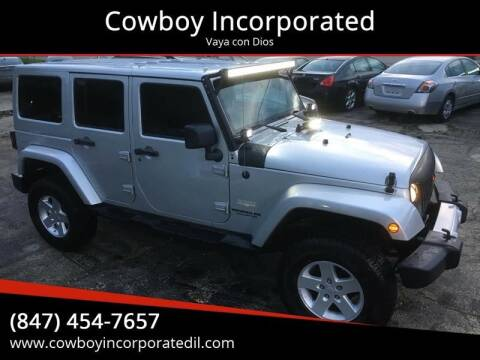2009 Jeep Wrangler Unlimited for sale at Cowboy Incorporated in Waukegan IL