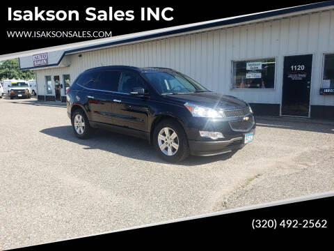 2011 Chevrolet Traverse for sale at Isakson Sales INC in Waite Park MN