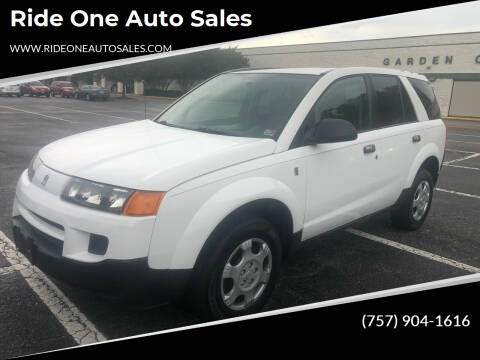 2004 Saturn Vue for sale at Ride One Auto Sales in Norfolk VA