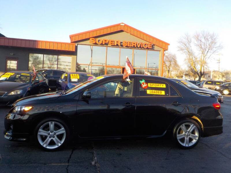 2013 Toyota Corolla for sale at Super Service Used Cars in Milwaukee WI